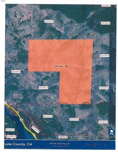 Upper Lake Residential Lots & Land For Sale: 5676 West State Hwy 20