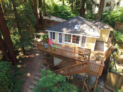 Camp Meeker Single Family Home For Sale: 124 Fir Avenue