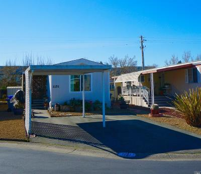 Sonoma County Mobile Home For Sale: 1151 Adrienne Way #1151 Adr
