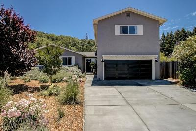 Novato Single Family Home For Sale: 73 Corte Roble
