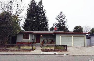 Santa Rosa Single Family Home For Sale: 519 Corlano Avenue