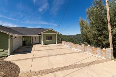 Kelseyville Single Family Home For Sale: 6845 Grande Vista Drive