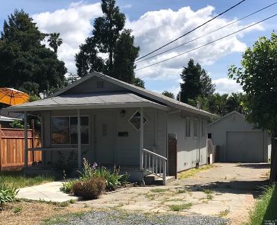 Santa Rosa Single Family Home For Sale: 824 Olive Street