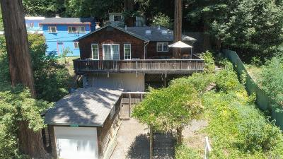 Guerneville CA Single Family Home For Sale: $549,999