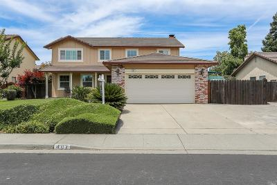 Vacaville Single Family Home For Sale: 407 Stonewood Drive