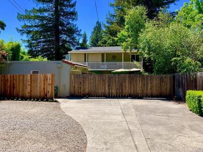 Sonoma Multi Family 2-4 For Sale: 857 2nd Street East