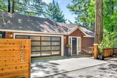 Sonoma County Single Family Home For Sale: 14025 Solaridge Road