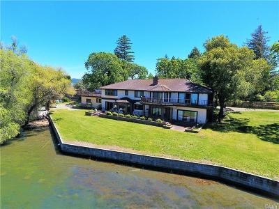Lake County Single Family Home For Sale: 8266 Peninsula Drive