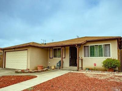 Vallejo Single Family Home For Sale: 337 Sawyer Street