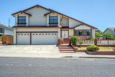 Vallejo Single Family Home For Sale: 150 Preakness Lane