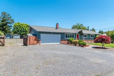 Santa Rosa Single Family Home For Sale: 3795 Selvage Road