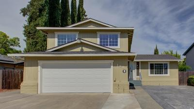 Vacaville Single Family Home For Sale: 189 Clayton Circle