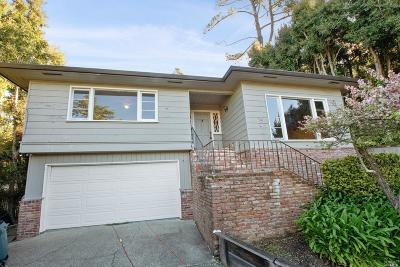 Mill Valley Single Family Home For Sale: 58 Bay Vista Drive