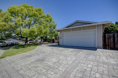 Vacaville, Fairfield, Dixon, Suisun City, Vallejo Single Family Home For Sale: 2146 Wylie Place