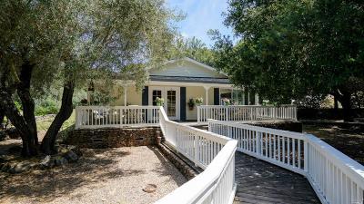 Napa County Single Family Home For Sale: 2906 Monticello Road