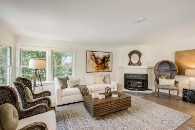 Mill Valley Single Family Home For Sale: 480 Molino Avenue
