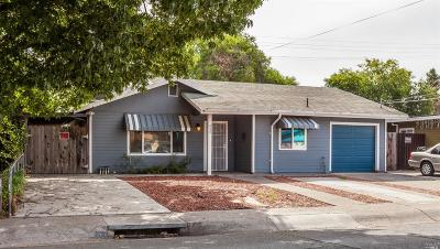Vallejo Single Family Home For Sale: 432 Miller Avenue