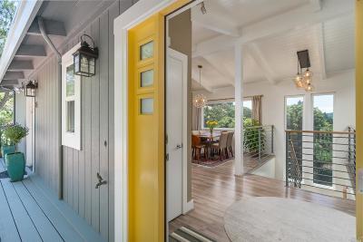 San Rafael Single Family Home For Sale: 86 Windsor Avenue