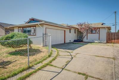 Vallejo Single Family Home For Sale: 327 Amelia Street