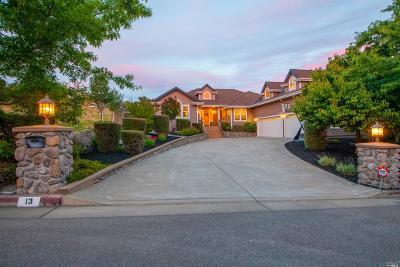 Petaluma Single Family Home For Sale: 13 Fowler Court