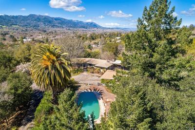 Sonoma Single Family Home For Sale: 555 Crest Way