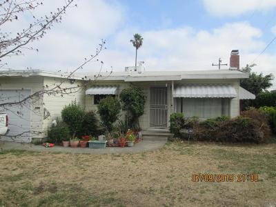 Vallejo Single Family Home For Sale: 2834 Webb Street