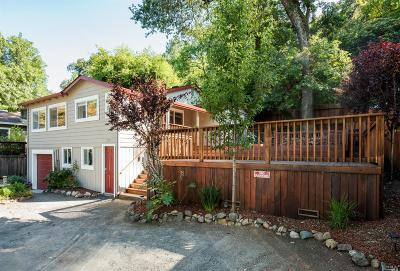 Healdsburg Single Family Home For Sale: 2756 North Fitch Mountain Road