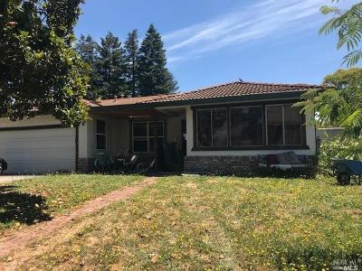 Rohnert Park Single Family Home For Sale: 5730 Davis Circle