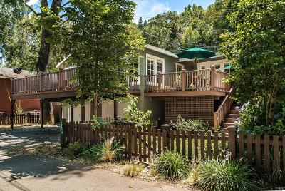 Healdsburg Single Family Home For Sale: 2787 North Fitch Mountain Road