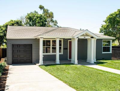 Benicia Single Family Home For Sale: 10 Hillcrest Avenue