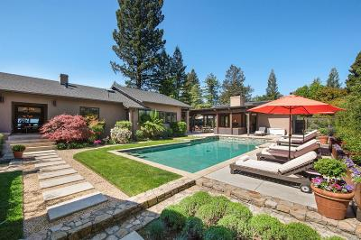 St. Helena Rental For Rent: 1626 Madrona Avenue
