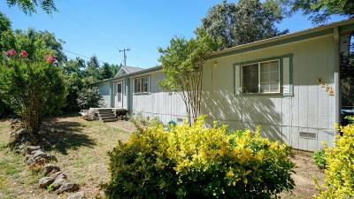 Redwood Valley CA Single Family Home Contingent - Release: $420,000