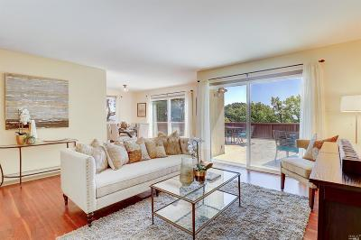 Sausalito Condo/Townhouse For Sale: 5 Sausalito Boulevard #1