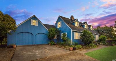 Healdsburg CA Single Family Home For Sale: $2,150,000