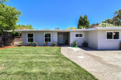 Marin County Single Family Home For Sale: 814 Hacienda Way