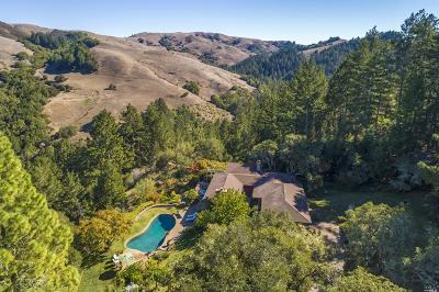 Nicasio Single Family Home For Sale: 54 Los Pinos Spur