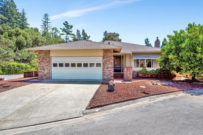 Healdsburg Single Family Home For Sale: 316 Pine Circle