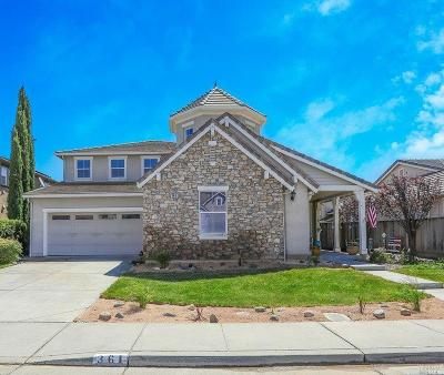 Vacaville Single Family Home For Sale: 361 Snow Egret Drive
