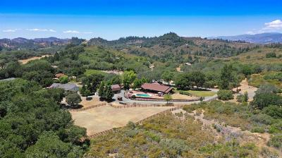 Calistoga Single Family Home For Sale: 5825 Sharp Road
