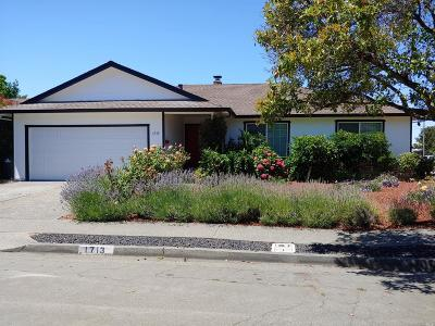 Sonoma County Rental For Rent: 1713 Mariposa Drive