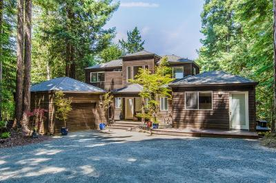 Gualala Single Family Home For Sale: 39151 Stargaze Drive