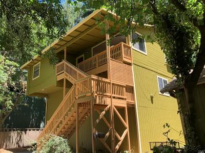 Guerneville CA Single Family Home For Sale: $429,000
