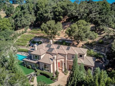 Marin County Single Family Home For Sale: 2560 Vineyard Road