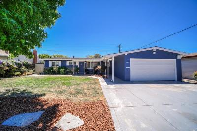 Vallejo Single Family Home For Sale: 131 University Avenue