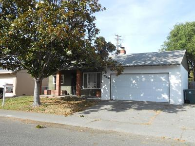 Vallejo Single Family Home For Sale: 1242 Delwood Street