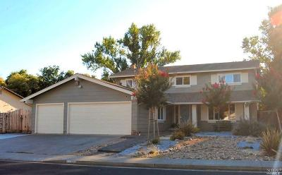 Solano County Single Family Home For Sale: 1693 Quincey Lane