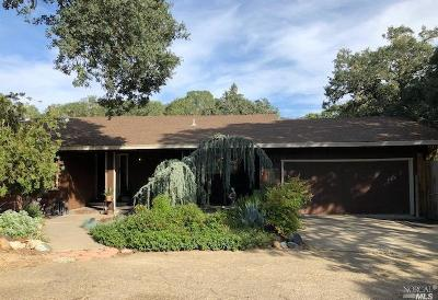 Ukiah Single Family Home For Sale: 1931 Mosswood Road