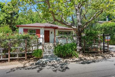 Marin County Single Family Home For Sale: 125 Hilldale Drive
