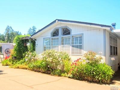 Sonoma County Mobile Home For Sale: 164 Larkspur Drive #164