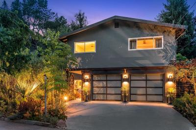 San Rafael Single Family Home For Sale: 122 Greenwood Avenue